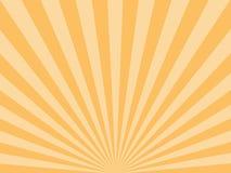 Zonnestraal, starburst achtergrond, convergerende lijnen Vector illustratie royalty-vrije illustratie