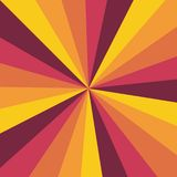 Zonnestraal vectorpatroon als achtergrond met een uitstekend kleurenpalet van gewerveld radiaal gestreept ontwerp Uitstekend of r vector illustratie