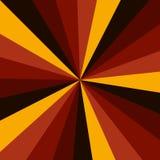 Zonnestraal vectorpatroon als achtergrond met een uitstekend kleurenpalet van gewerveld radiaal gestreept ontwerp Uitstekend of r royalty-vrije illustratie
