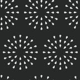 Zonnestraalachtergrond, inkthand getrokken patroon Stock Fotografie