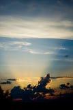 Zonnestralen Stock Afbeelding