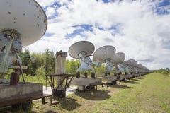 Zonnewaarnemingscentrum in Oostelijk Siberië Stock Afbeeldingen