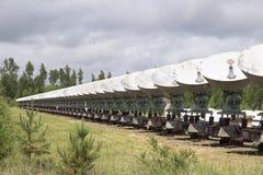 Zonnewaarnemingscentrum in Oostelijk Siberië Royalty-vrije Stock Afbeelding