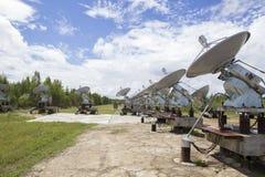 Zonnewaarnemingscentrum in Siberië Royalty-vrije Stock Foto's