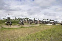 Zonnewaarnemingscentrum in Siberië Stock Afbeelding