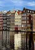 Zonnig Amsterdam Stock Afbeelding