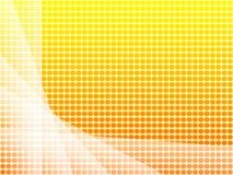 Zonnig behang Vector Illustratie