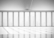 Zonnig open planbinnenland het 3d teruggeven Royalty-vrije Stock Fotografie