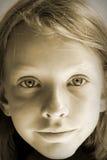 Zonnig portret royalty-vrije stock foto