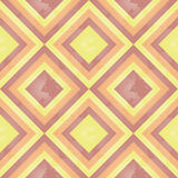 Zonnig Retro (vierkant) Patroon Stock Afbeeldingen