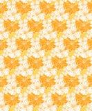 Zonnig tropisch bloemenpatroon, naadloos voor stoffen en behang stock illustratie