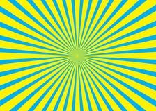 Zonnige achtergrond Toenemend zonpatroon Vectorstreep abstracte illustratie zonnestraal royalty-vrije illustratie
