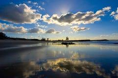 Zonnige dag in Nieuw Zuid-Wales, Australië Royalty-vrije Stock Afbeelding