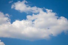 Zonnige dag, zonneschijn, blauwe hemel, Stock Foto