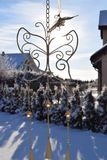 Zonnige de winterdag Royalty-vrije Stock Foto