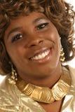 Zonnige glimlach Royalty-vrije Stock Foto's