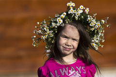 Zonnige Glimlach Stock Foto's