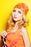 Zonnige kleuren Royalty-vrije Stock Foto's