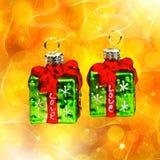 Zonnige samenvatting met Kerstmisdecor royalty-vrije illustratie