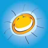 Zonnige Smiley   vector illustratie