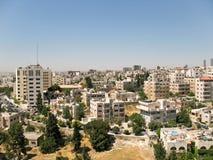 Zonnige stad van Amman Stock Afbeeldingen
