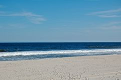 Zonnige stranddag Stock Fotografie