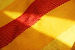 Zonnige textielachtergrond Stock Foto's