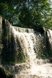 Zonovergoten Waterval Royalty-vrije Stock Afbeeldingen