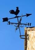 Zonovergoten Windwijzer Stock Fotografie
