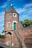 ZONS, DEUTSCHLAND - 25. SEPTEMBER 2016: Ein Wachturm zeigt die mittelalterliche Architektur Lizenzfreies Stockbild