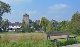 Zons,Rhine River,Germany Royalty Free Stock Image