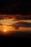 Zonsondergang 1 Royalty-vrije Stock Afbeeldingen