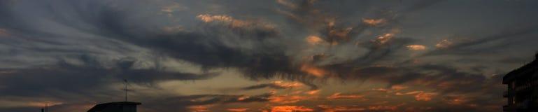 Zonsondergang #13 Royalty-vrije Stock Afbeeldingen