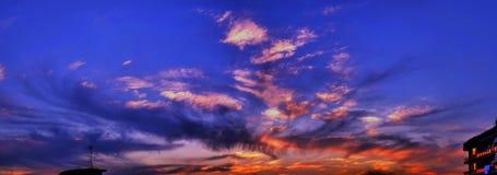 Zonsondergang #14 Royalty-vrije Stock Foto's