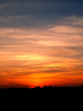 Zonsondergang 2 van de hemel Stock Foto's
