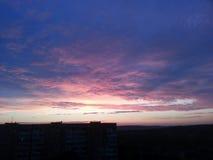Zonsondergang Stock Foto's