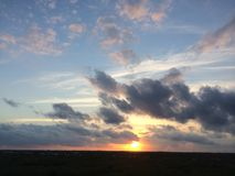 Zonsondergang 2 royalty-vrije stock foto