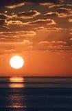 Zonsondergang 5 van Carib Royalty-vrije Stock Fotografie