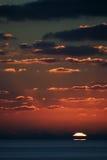 Zonsondergang 8 van Carib Stock Foto
