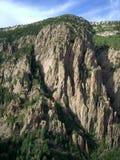 Zonsondergang bij Berg Sandia royalty-vrije stock foto's