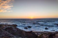 Zonsondergang bij de Baai royalty-vrije stock foto's