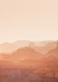 Zonsondergang bij de Grote Canion Royalty-vrije Stock Afbeelding