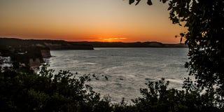 Zonsondergang bij Gr Mirante Royalty-vrije Stock Fotografie