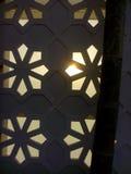 Zonsondergang in de stad Royalty-vrije Stock Fotografie