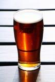 Zonsondergang in een glas. Royalty-vrije Stock Foto
