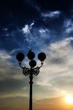 Zonsondergang in Florence Stock Afbeelding