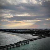 Zonsondergang Florida Royalty-vrije Stock Afbeelding