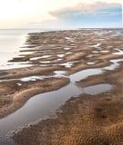 Zonsondergang Hervey Bay Queensland stock afbeeldingen