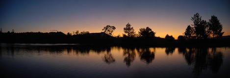Zonsondergang in Madagascar Royalty-vrije Stock Foto