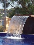 Zonsondergang in Majorca-pool Stock Afbeeldingen